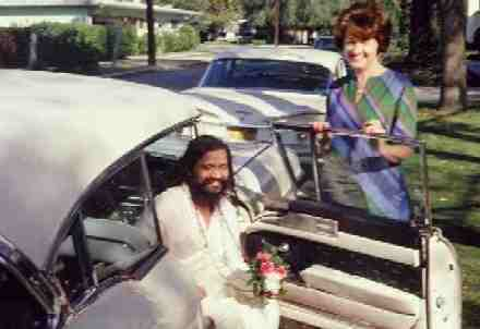 Helen with Maharishi